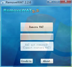 win7激活工具,RemoveWAT Win7系统激活工具下载