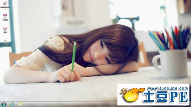 win7主题回忆中的女同学下载
