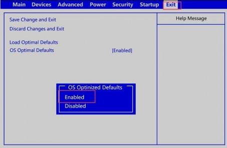 [U盘启动]联想B4360台式机UEFI U盘启动