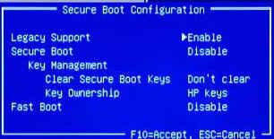 [BIOS设置U盘启动]HP Larrybird主板BIOS设置U盘启动