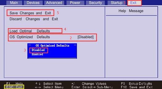 联想C4005一体机BIOS设置U盘启动