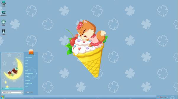 小松鼠吃冰淇淋动漫主题下载