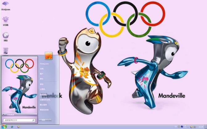伦敦奥运吉祥物主题下载