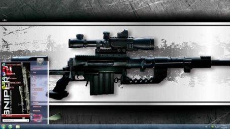 狙击2黑色经典游戏主题下载