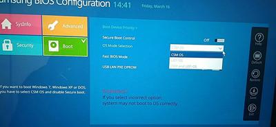 三星3500EM-X01笔记本电脑BIOS设置U盘启动图文教程