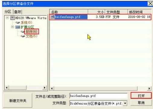详解硬盘分区表损坏怎么修复